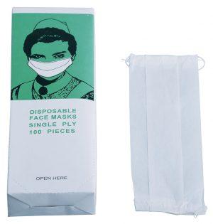 040028 Mundschutz elastisch weiß | 100 Stk.