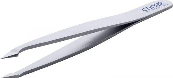 2300-02 Haarpinzette | schräg | spitz