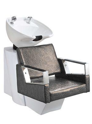 43003 Friseur-Waschanlage mit Stuhl