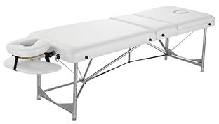 Massageliege Camcun zusammenklappbar weiß