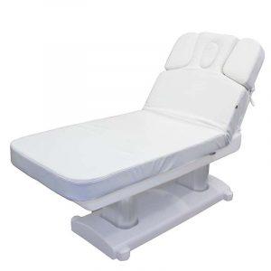 Behandlungsliege Sula mit aufgerichteter Rückenlehne