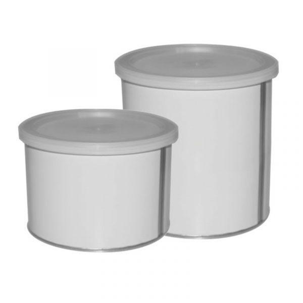 leere Wachsdosen mit 400 ml oder 800 ml