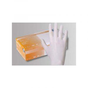 Handschuhe Latex weiß