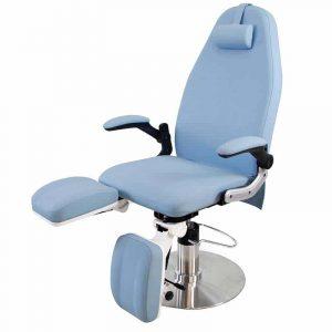 Fußpflegestuhl Panama - hellblau