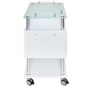 Arbeitswagen Opus mit UV-Schublade - seitliche Ansicht