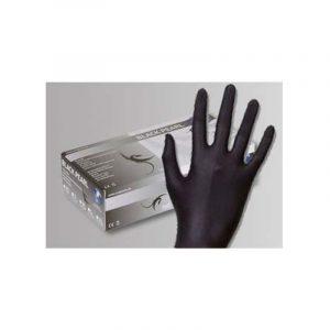 Handschuhe Nitril schwarz